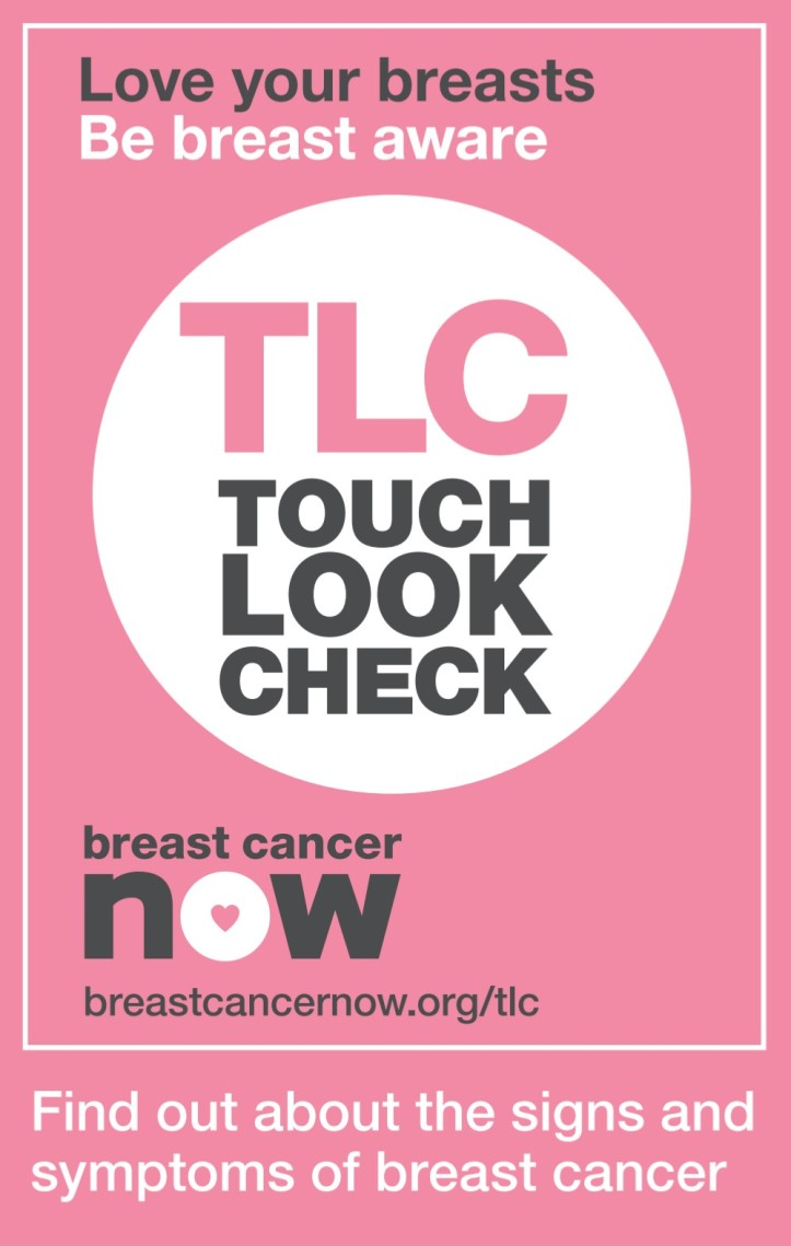 Breast cancer now - touch look check